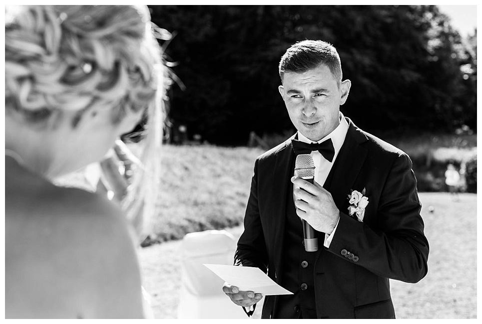 discours des mariés, échange des voeux