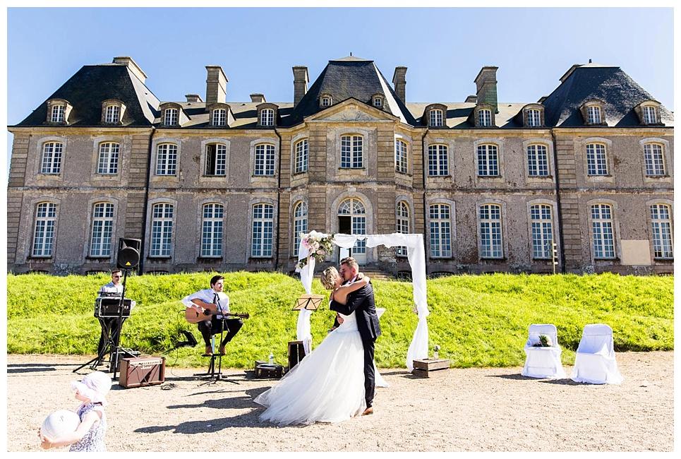 mariage au chateau de saint pierre l'église