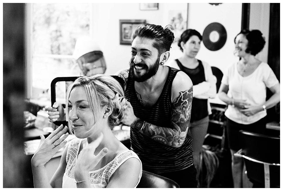 mariage cherbourg, préparatifs de la mariée