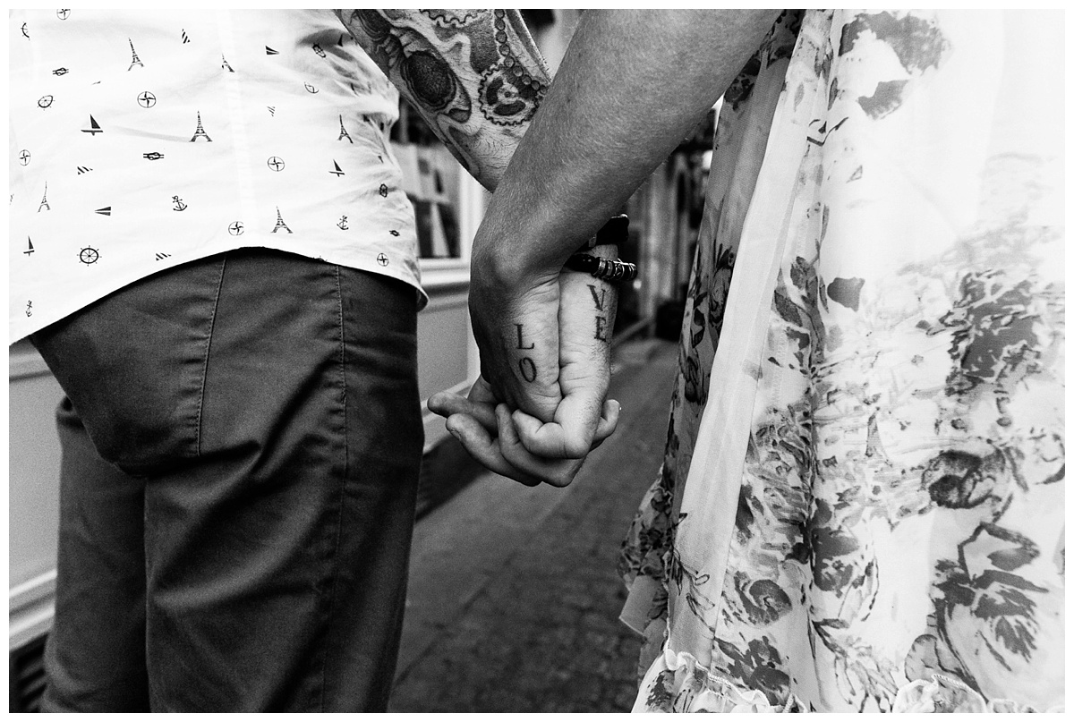 Séance «En amoureux» à Caen