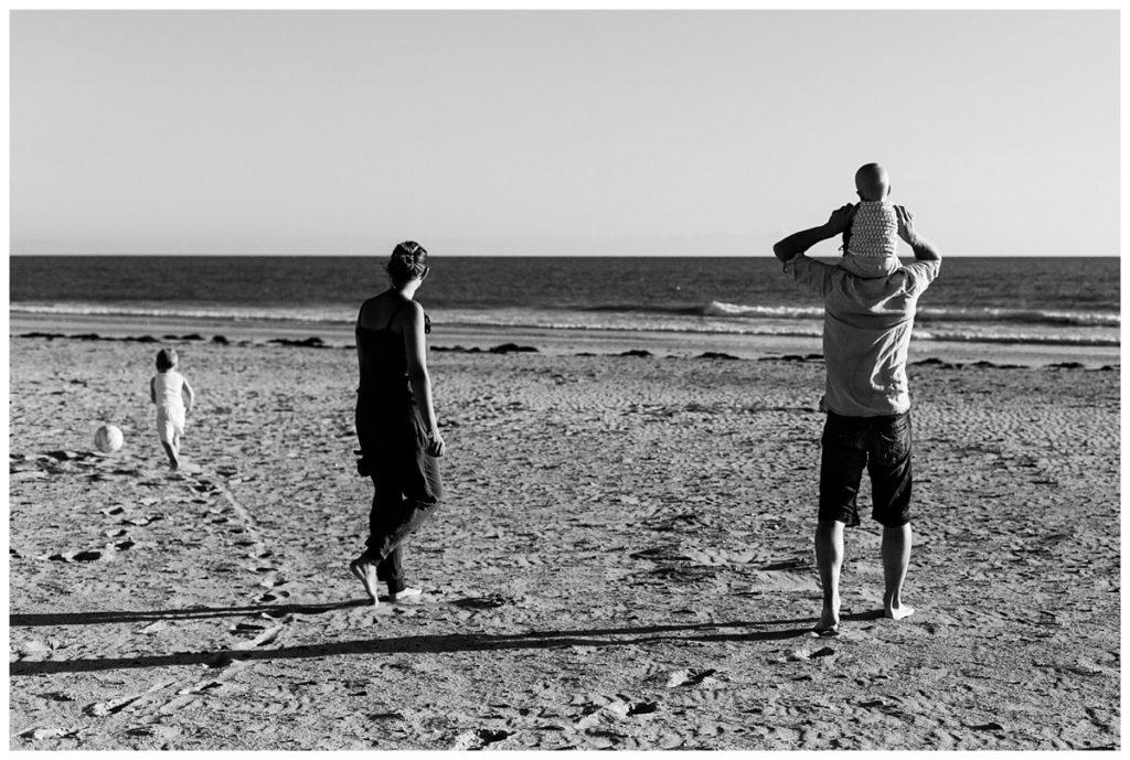 reportage famille en vacances par audrey guyon, photographe famille manche