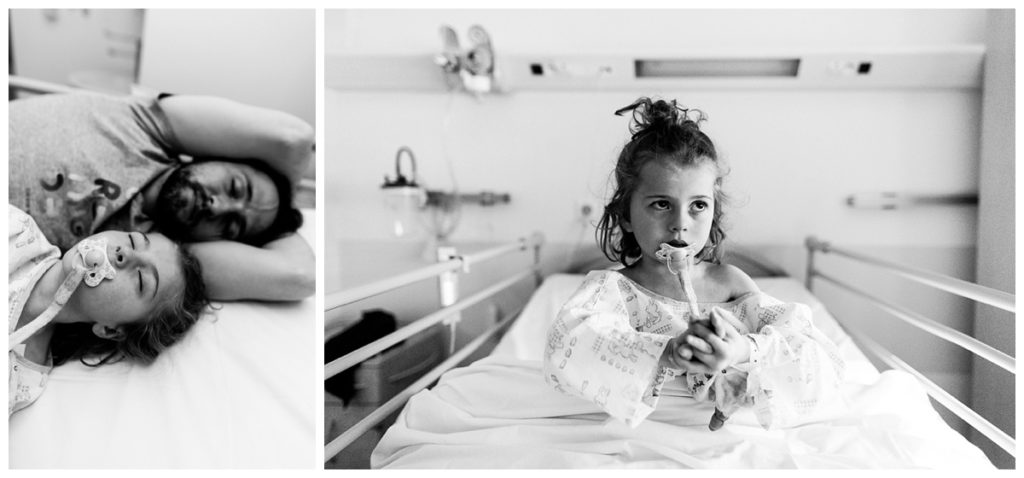 audrey guyon réalise un reportage photo à l'hôpital