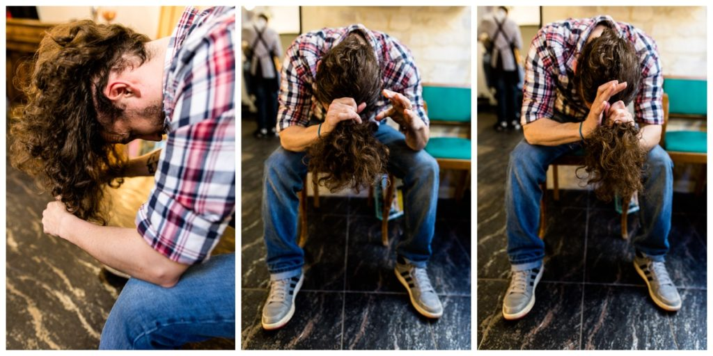 denis a donné ses cheveux à l'association solidhair