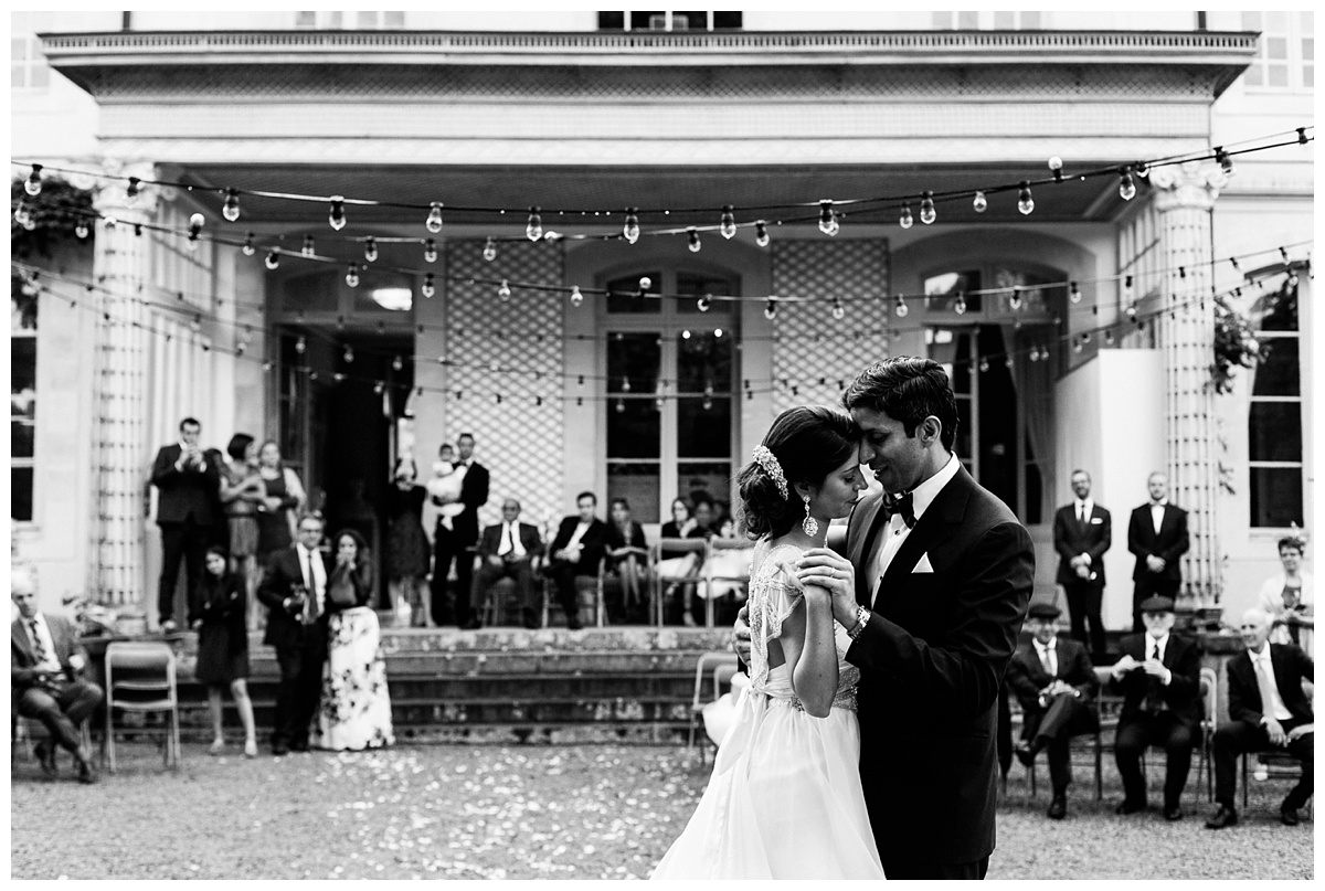 Un mariage américain dans un château privé en Normandie – Destination wedding