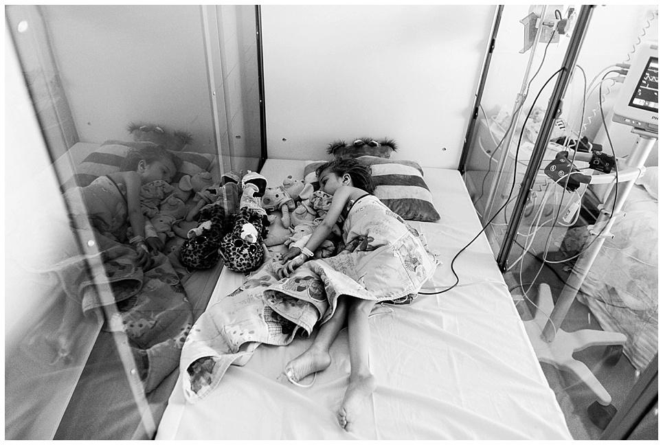 hospitalisation enfant gastrostomie