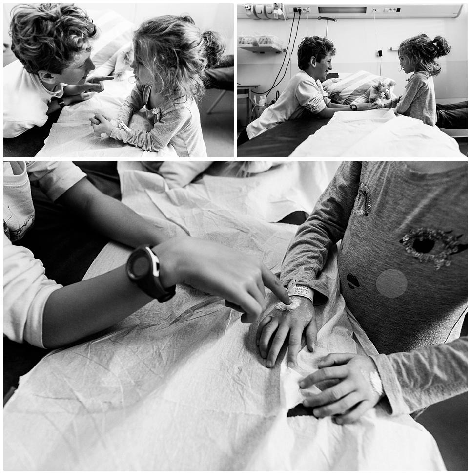 relation frere soeur hopital, audrey guyon photographe spécialisée dans le handicap
