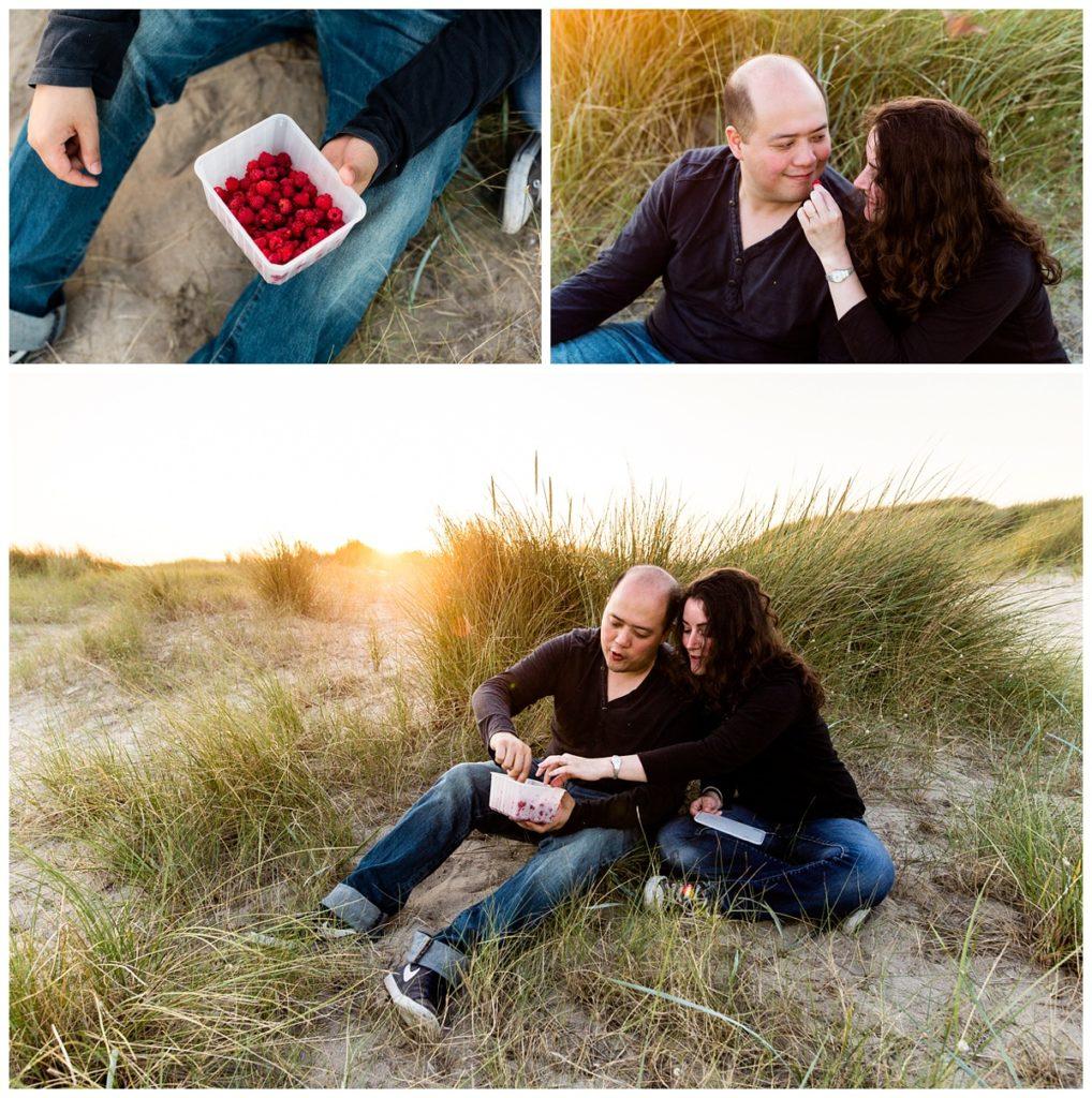 audrey guyon, photographe couple dans la manche