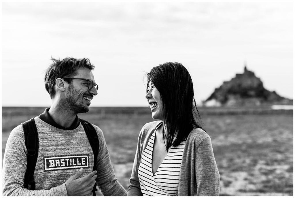 couple au mont saint michel