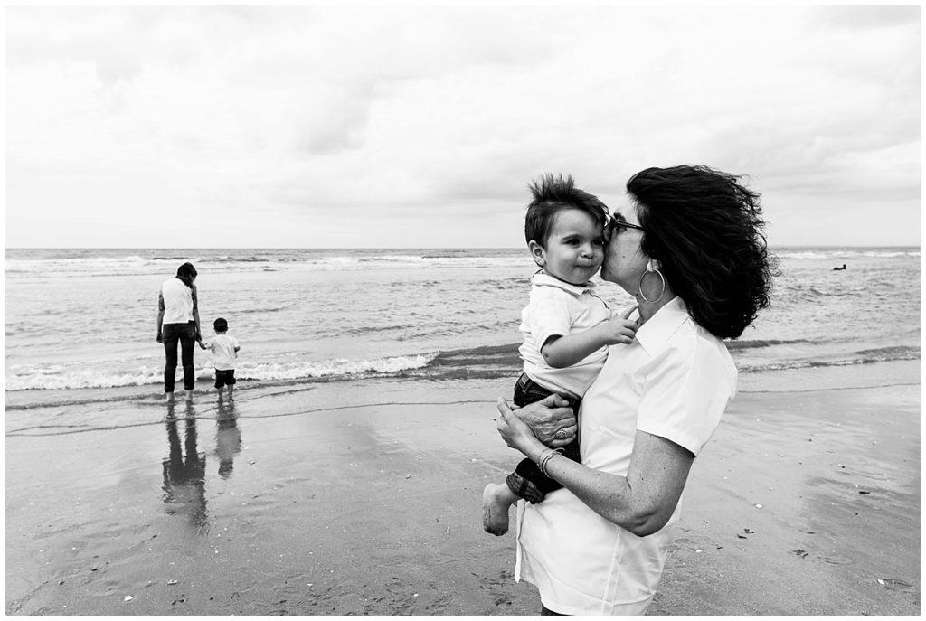seance famille a la mer de cabourg