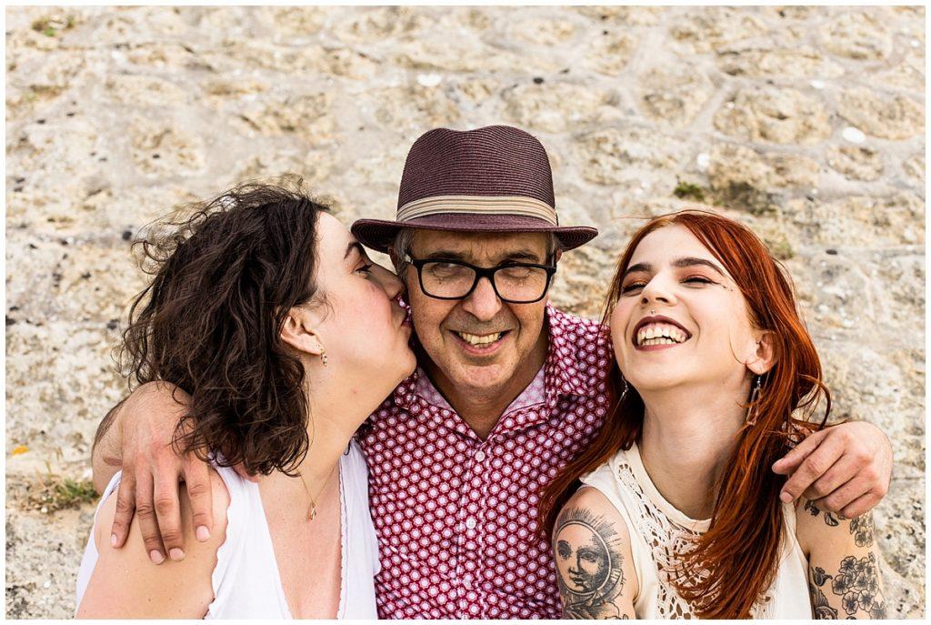 un papa et ses filles