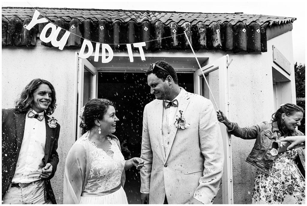 sortie mariage civil