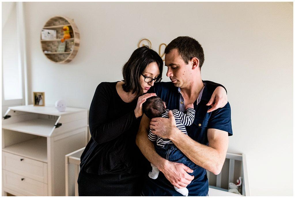 photo de famille par audrey guyon, photographe famille en normandie