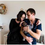 Séance lifestyle bébé à domicile