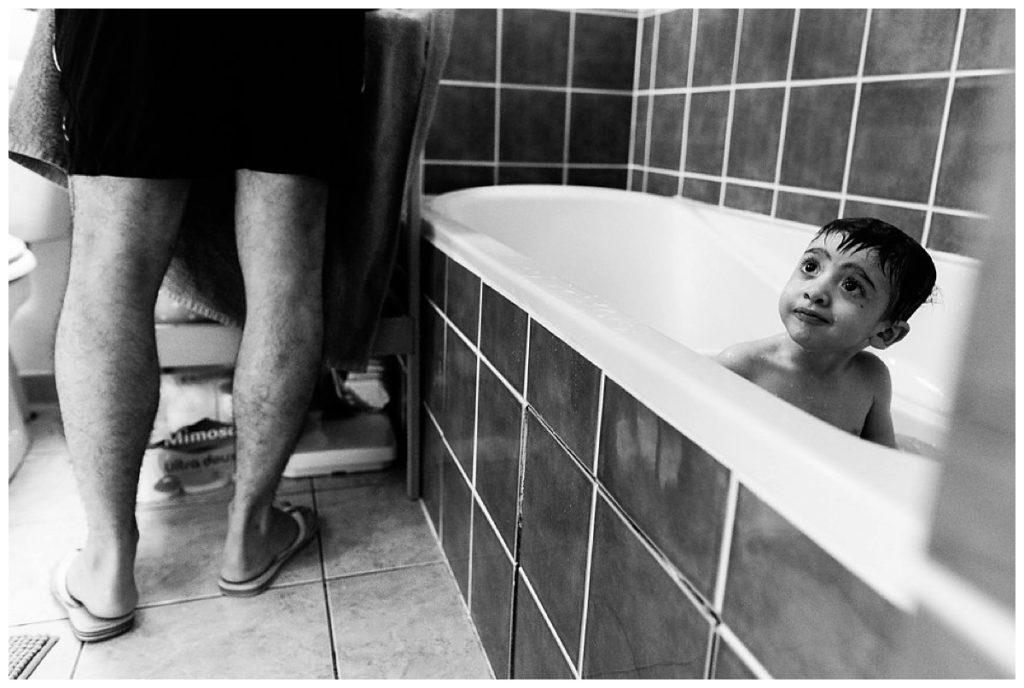 prendre son bain