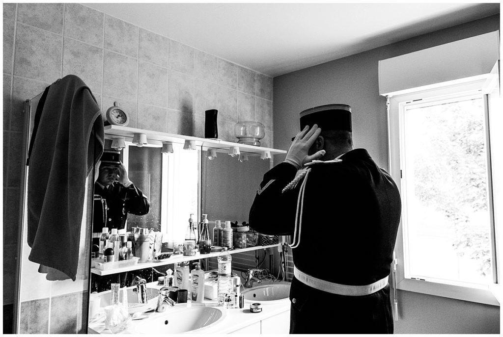 un mariage de gendarme en normandie photographié par audrey guyon photographe mariage