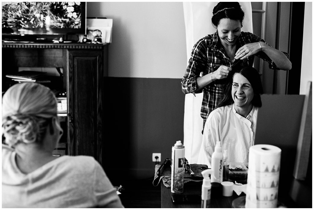 le reportage photo d'Audrey GUYON d'un mariage sur le thème de disney