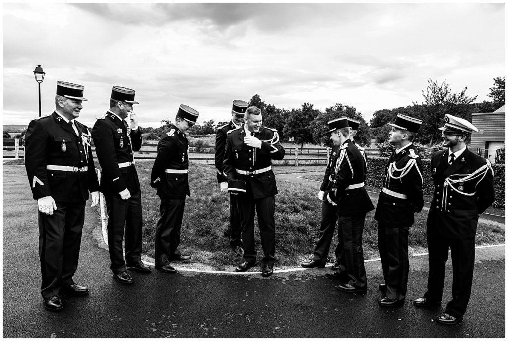 les photos d'un mariage de gendarme en normandie, par audrey guyon photographe mariage