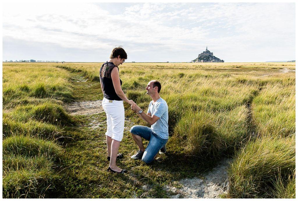 faire sa demande en mariage au mont saint michel
