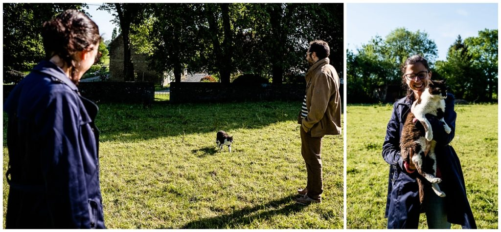 audrey guyon photographe couple en normandie vous invite à découvrir les photos d'un couple de vétérinaires