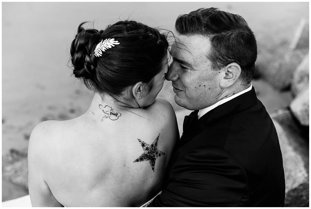 mariés à la plage, audrey guyon, photographe mariage manche