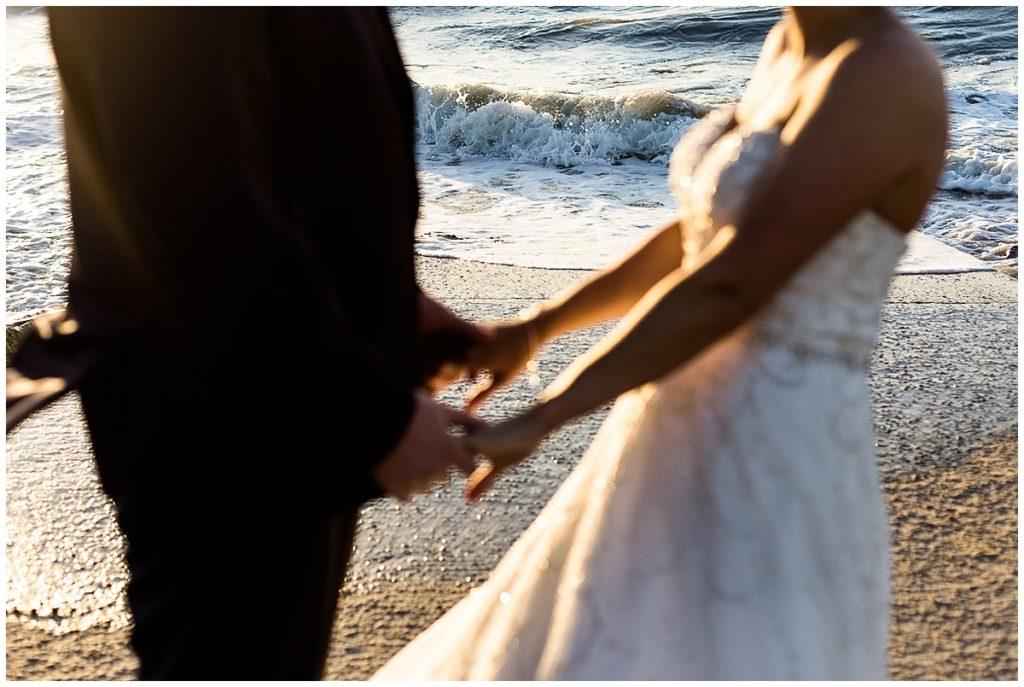 un day after à la mer par Audrey GUYON, photographe de mariage en normandie