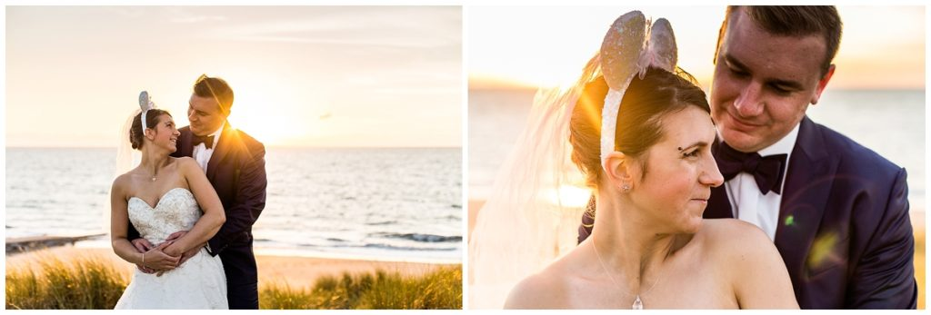 day after à la mer d'un mariage disney par audrey guyon, photographe mariage normandie