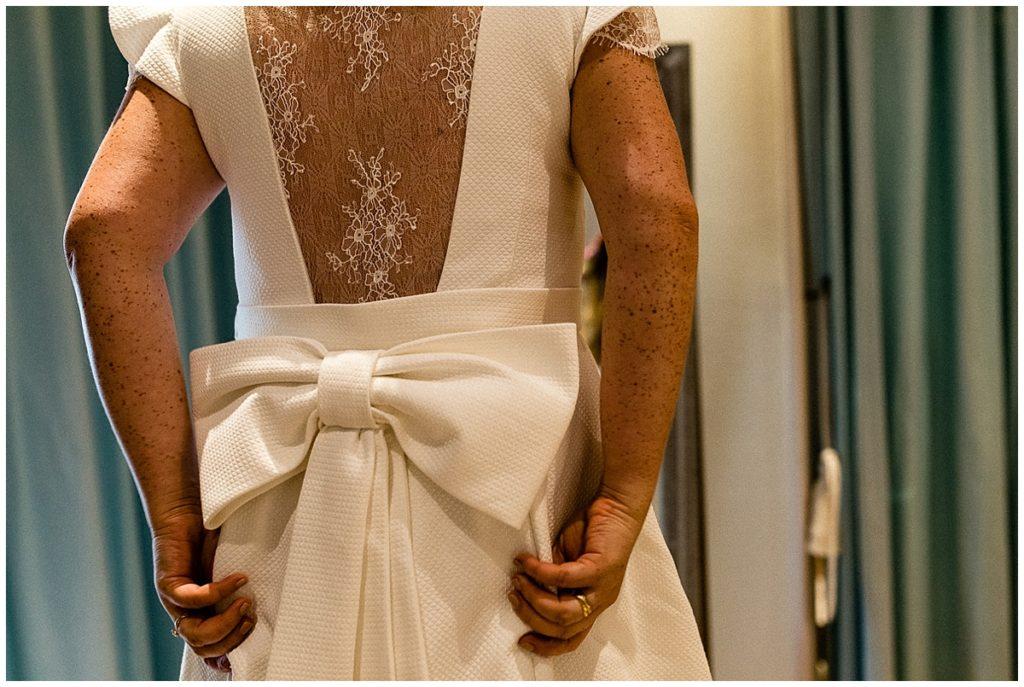 une robe marylise pour un mariage champêtre au colombier du manoir