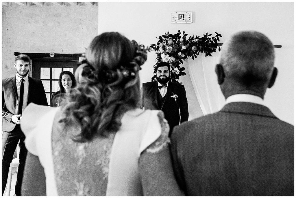 cérémonie laïque au colombier du mariage