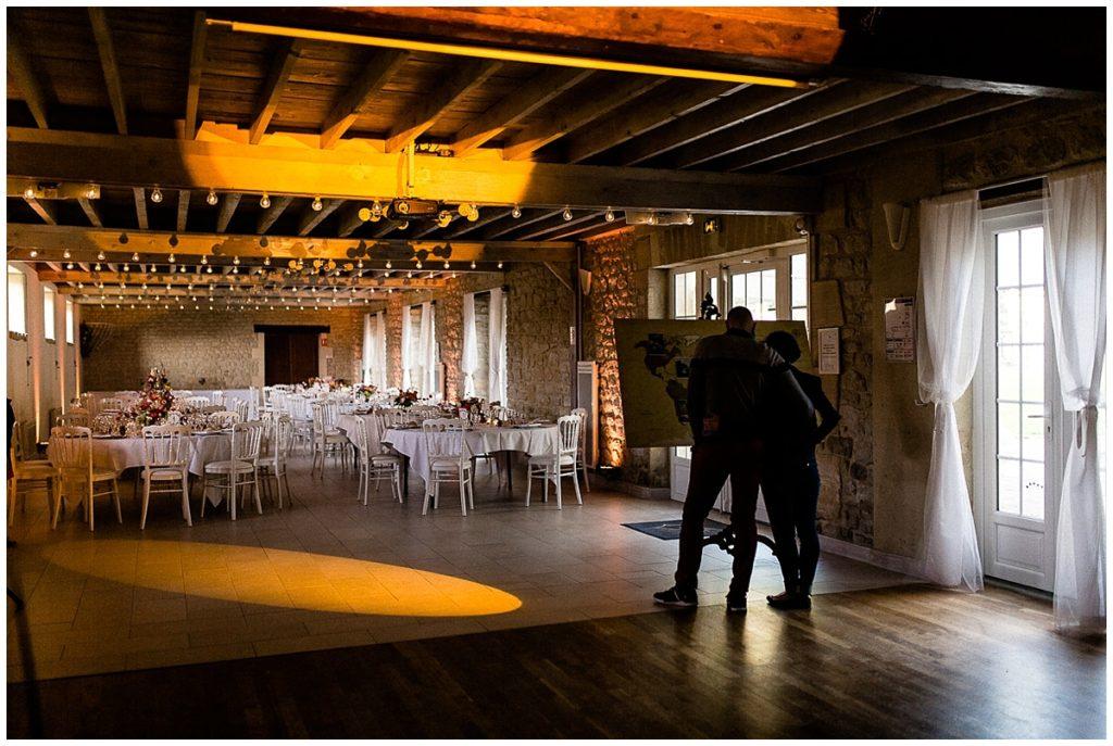 salle de mariage du colombier du manoir