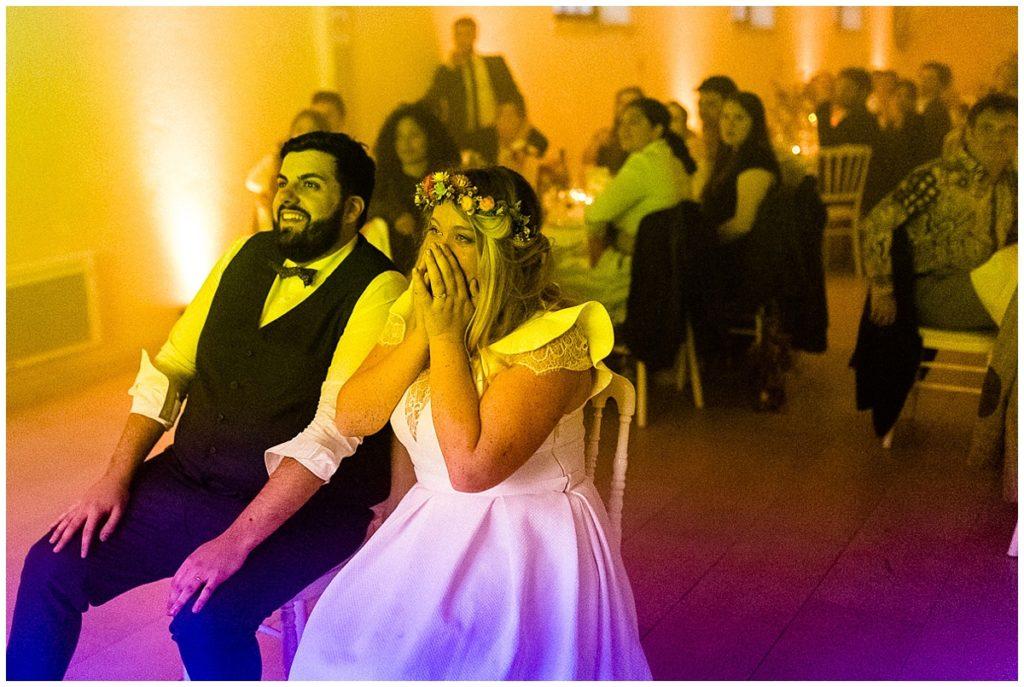 soirée de mariage en normandie, au colombier du manoir