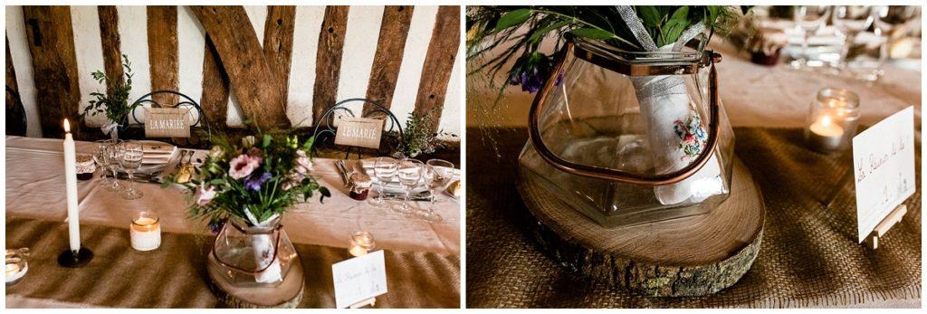 décoration mariage champetre