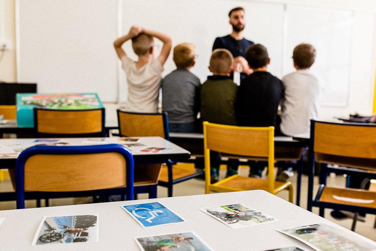 sensibilisation handicap école, photographe spécialisée dans le handicap