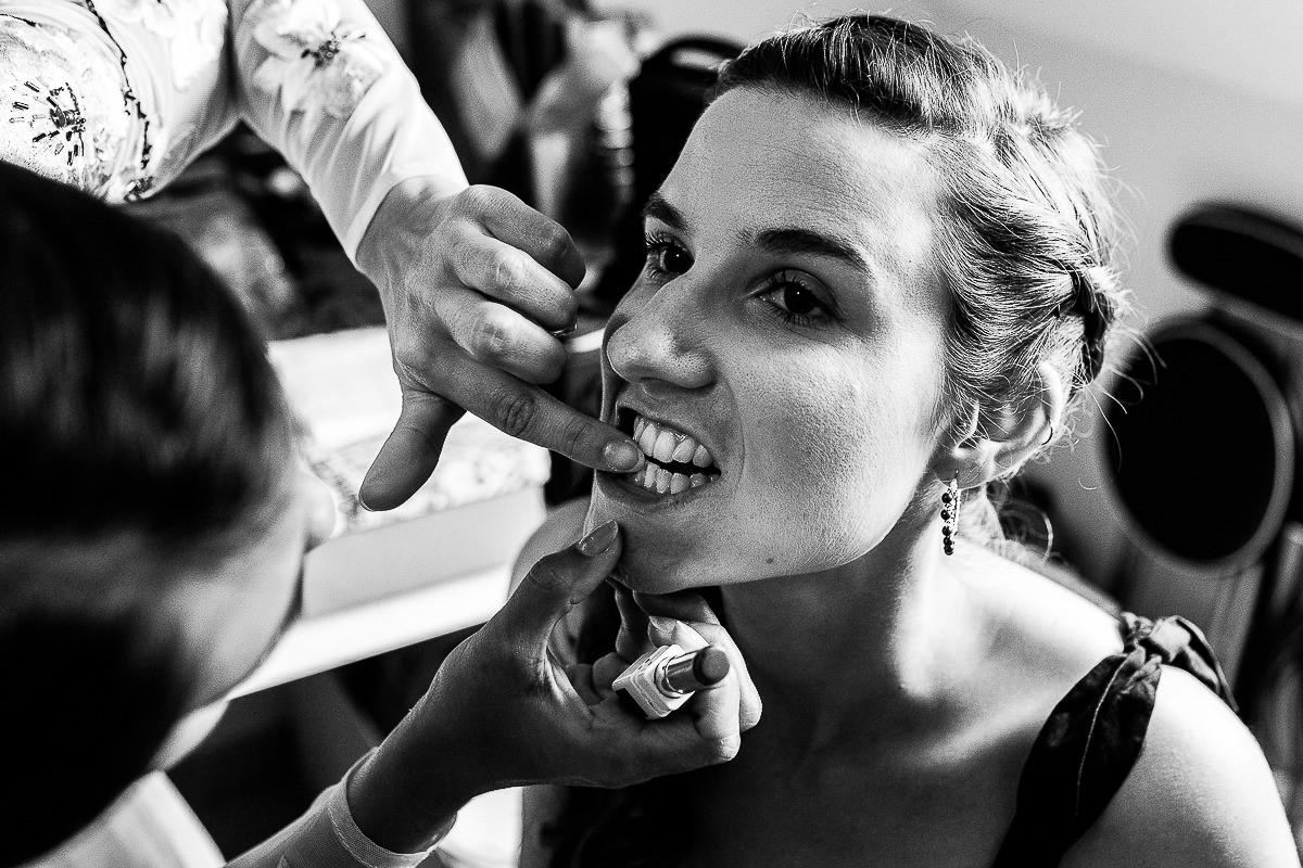 maquillage de la mariée photographe mariage normandie