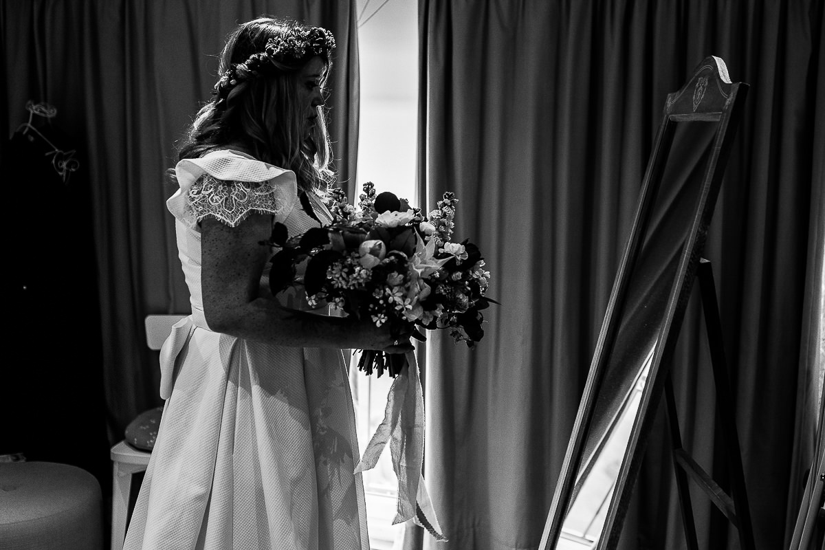 émotions mariée photographe mariage normandie