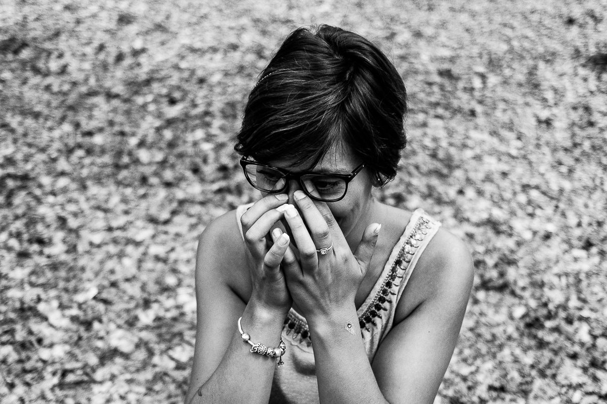 portrait femme emotions