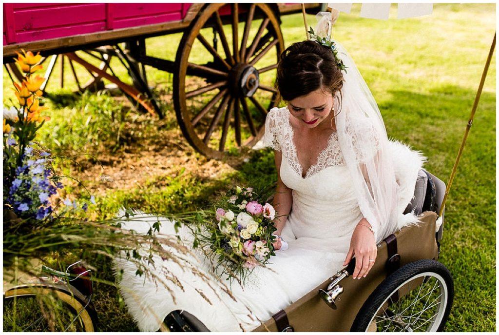 mariée au champ delaunay