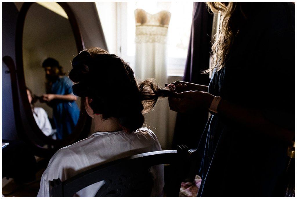 coiffure mariée cabourg