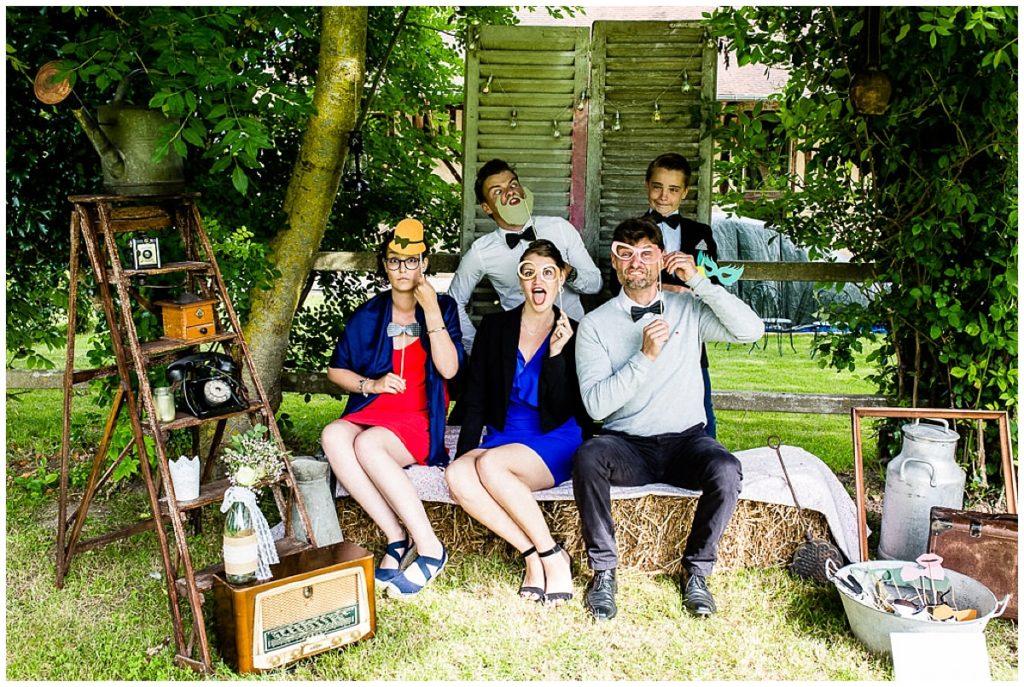 photo de groupe au Photo Booth