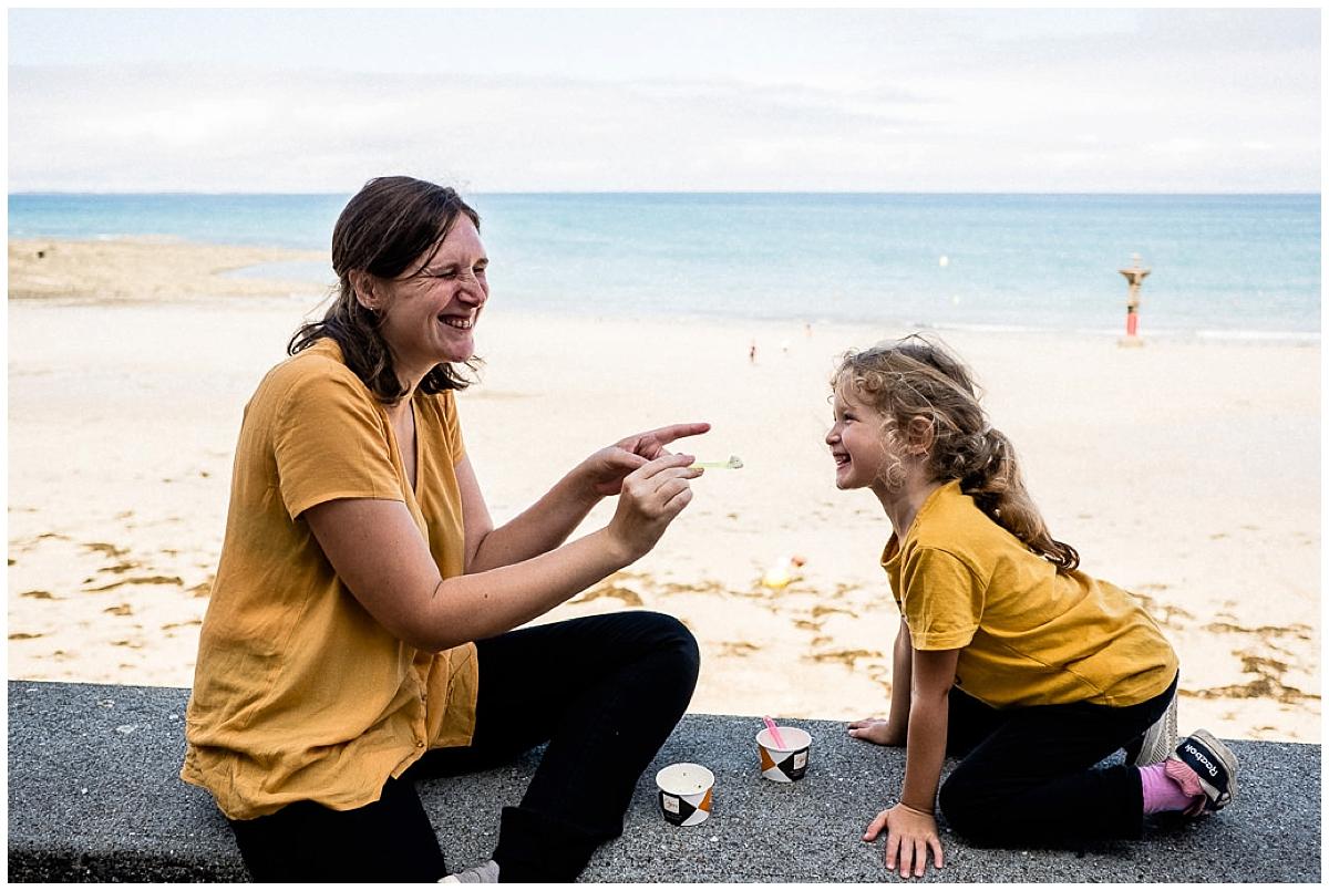 Photographe de famille à Granville, Normandie