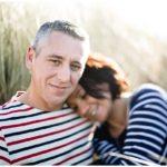 Photos de couple, dans la baie du Mont Saint Michel