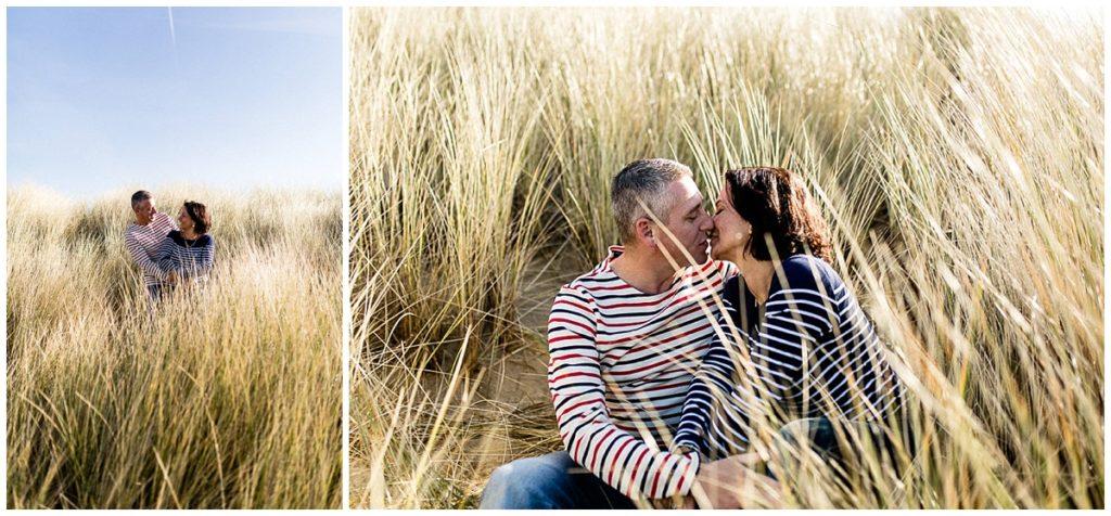 photos de couple dans la baie du mont saint michel