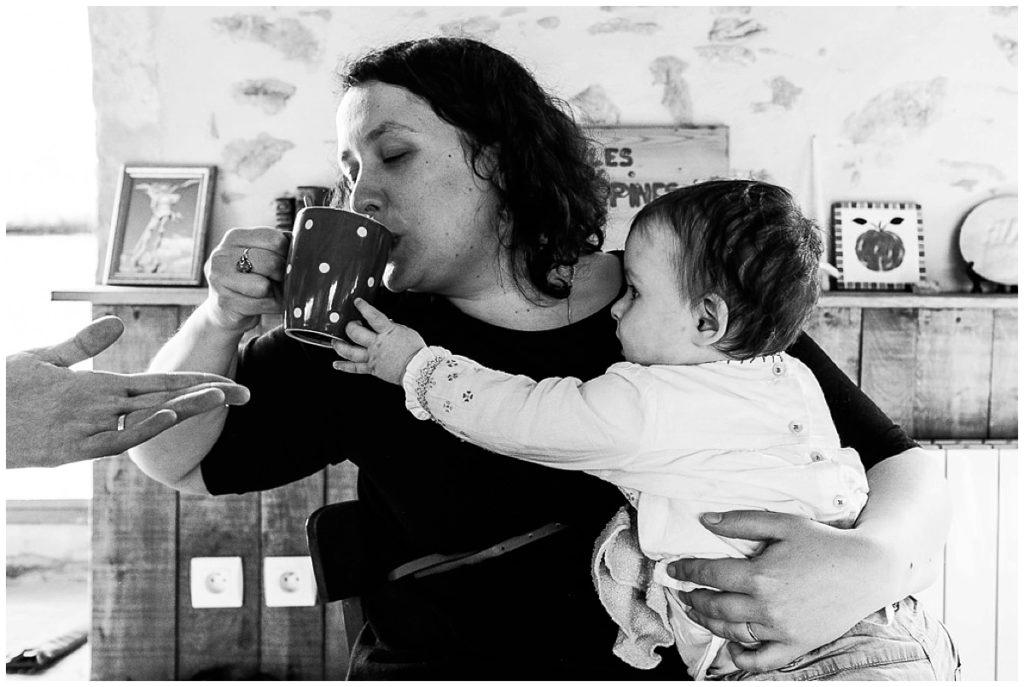 quotidien d'une maman, photographe du quotidien en normandie