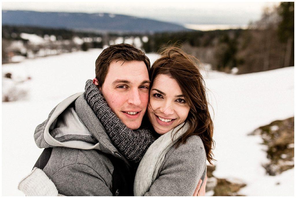 couple amoureux suisse