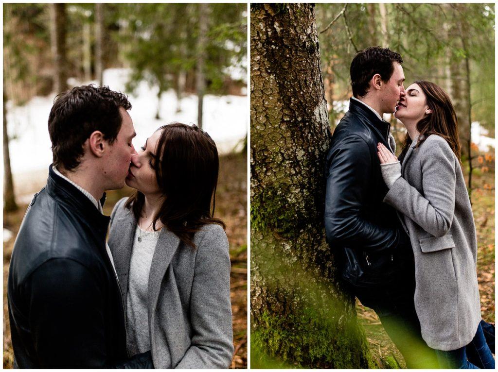 couple dans une foret suisse audrey guyon