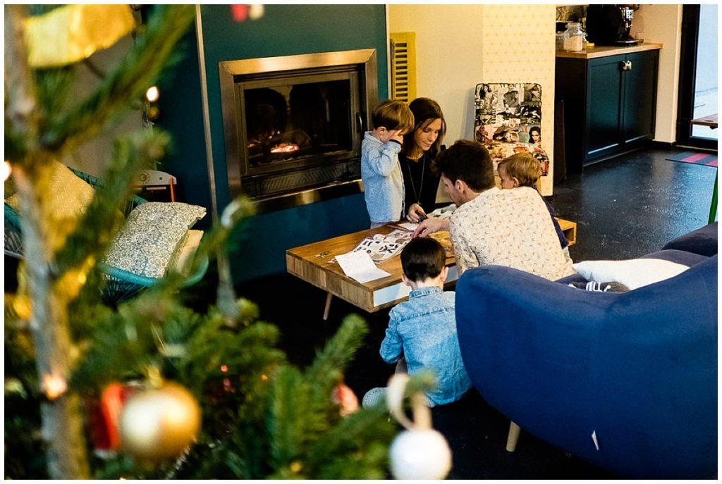 faire sa liste de Noël en famille, Audrey GUYON photographe normandie