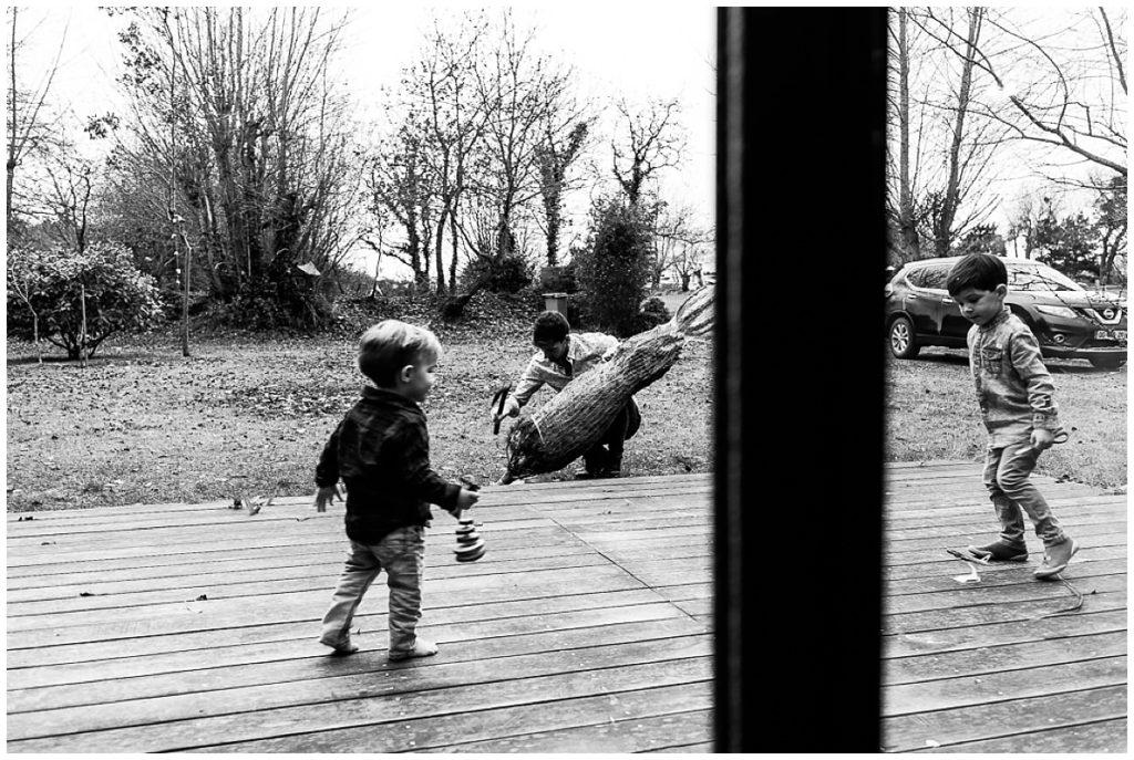 préparatifs de noel en famille, audrey guyon photographe famille manche