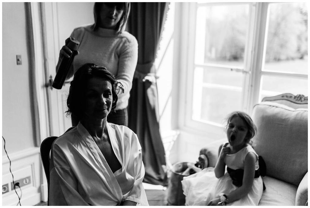 préparatifs mariage au chateau de courtomer, audrey guyon photographe mariage