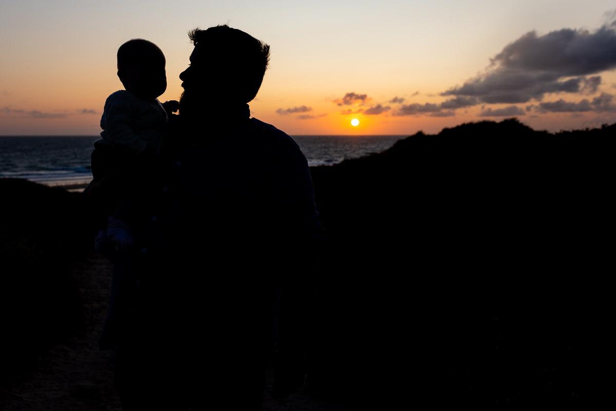 coucher de soleil séance famille barneville carteret, audrey guyon