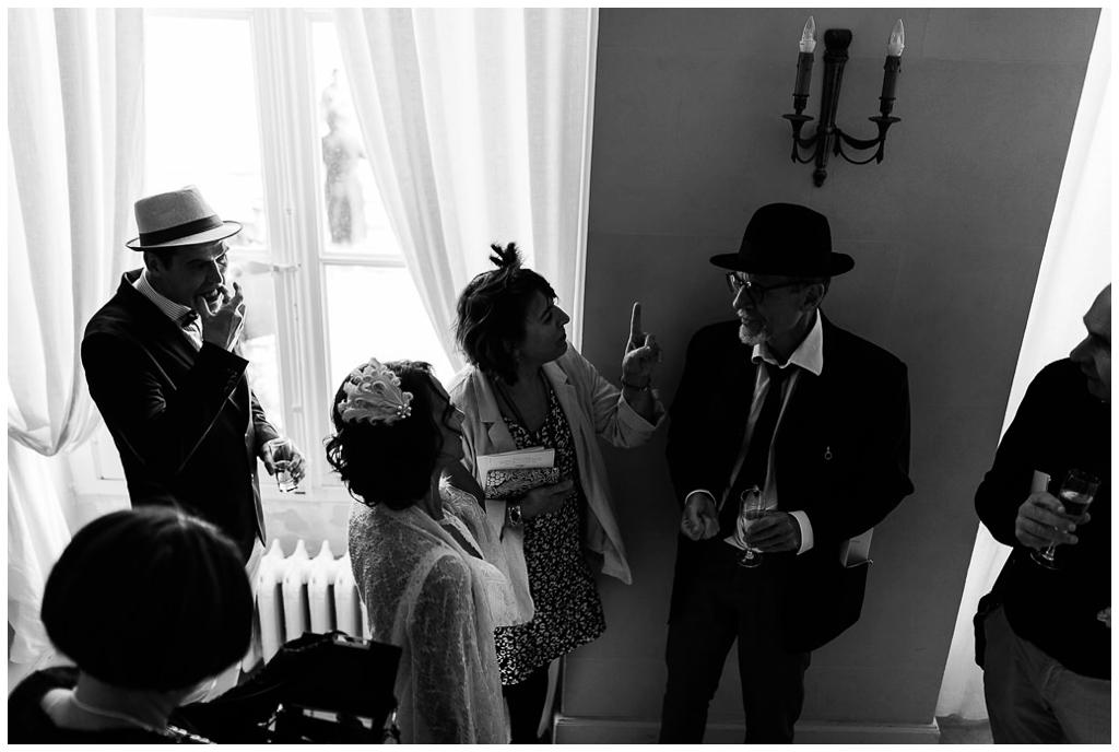 vin d'honneur mariage au chateau de courtomer, photographe mariage normandie