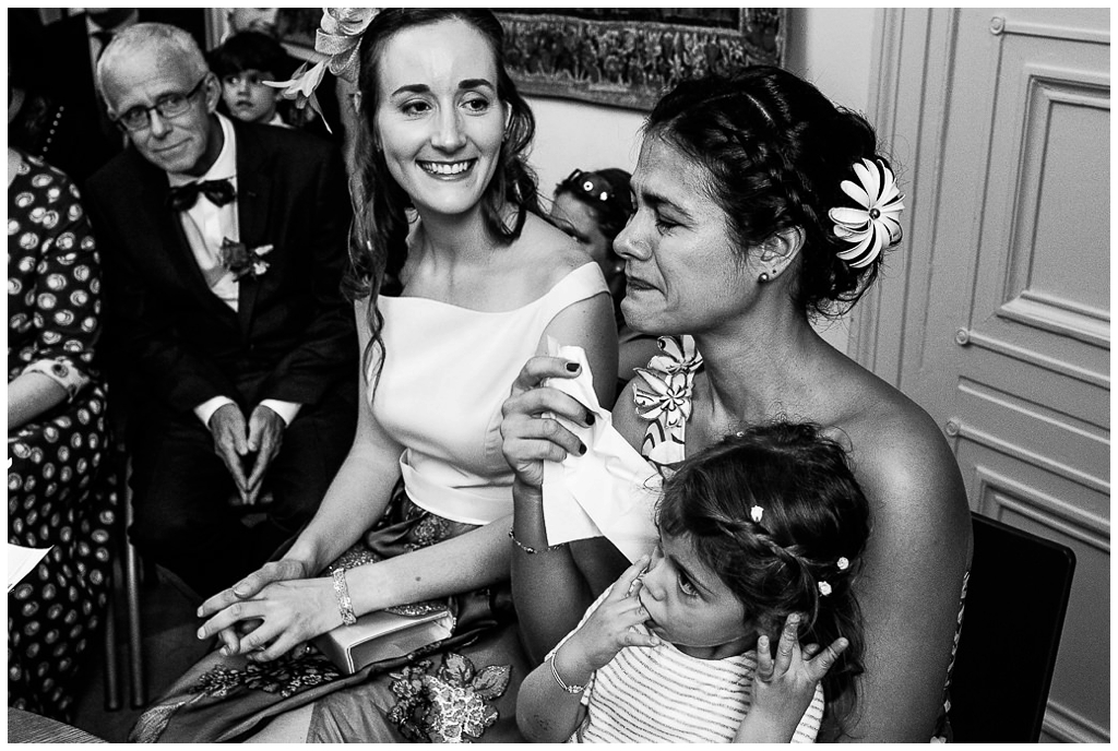 émotions cérémonie civile d'un mariage d'automne en normandie par audrey guyon photographe mariage en normandie